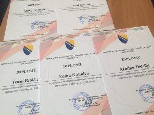 NAGRAĐENI NAJBOLJI UČENICI I STUDENTI  U FEDERACIJI BiH