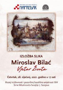 """Najava: Izložba slika Miroslava Bilaća """"Vjetar života"""""""