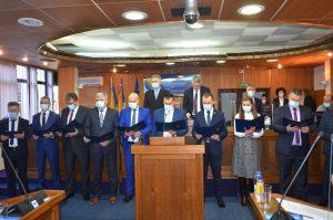 Članovi Vlade Brčko distrikta BiH danas su na 1. redovitoj sjednici Skupštine Brčko distrikta BiH položili svečanu prisegu.